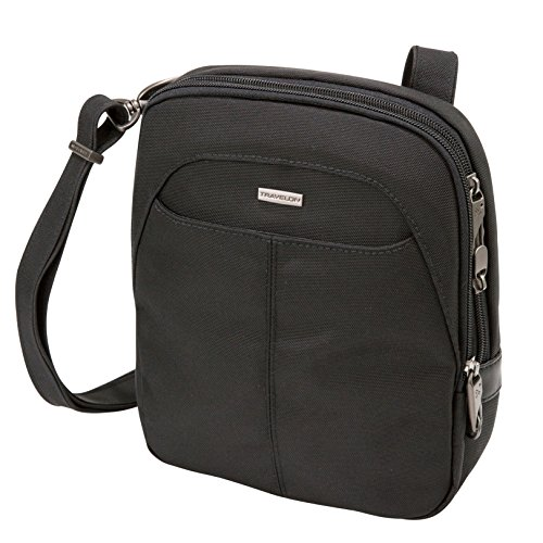 Travelon Anti-Theft Concealed Carry Slim Bag, Black