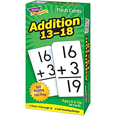 Skill Drill Flash Cards: Addition 13-18: Toys & Games