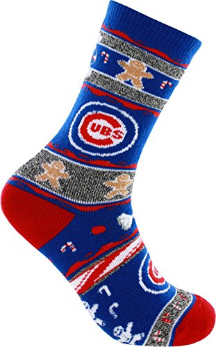 For Bare Feet Chicago Cubs Ugly Christmas Xmas Holiday So...