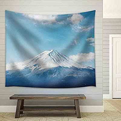 Gorgeous Visual, Created By a Professional Artist, The Highest Japanese Mountain Mt Fuji Fabric Wall