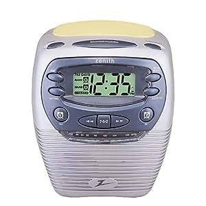 Zenith G516L Tube Alarm Clock Radio Vtg Pink - Recently ... |Zenith Clock Radio