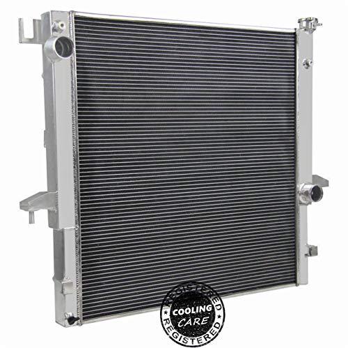 CoolingCare 3 Row All Aluminum Radiator for Dodge Ram 2500&3500 w/ 5.9L 6.7L Cummins Engine 2004-2009