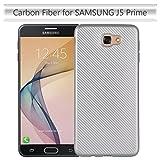 Samsung J5 Prime Case, Ultra-Thin Carbon Fiber Soft Slim Case For Samsung Galaxy J5 Prime/Samsung Galaxy On5 2016 ( Color : Silver )