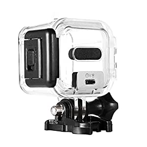 Taotree GoPro HERO Session 5 Waterproof Housing Standard Protective Case Replacement with Bracket & Screw for GoPro HERO5 Session 45m Underwater Diving