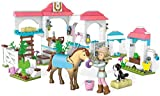 Mega Bloks American Girl Nicki s Horse Stables Construction Set