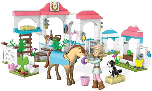 Mega Bloks American Girl Nicki's Horse Stables Construction (American Stable Blanket)