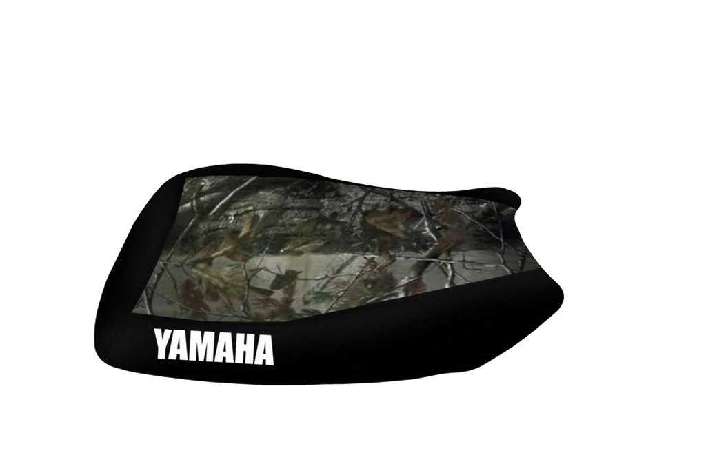 Yamaha Grizzly 700 Camo Top Black Sides Logo Seat Cover Trotzen Sports