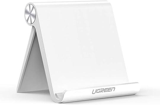 UGREEN Soporte Tablet, Multiángulo Soporte Ajustable para 4 a 10 ...