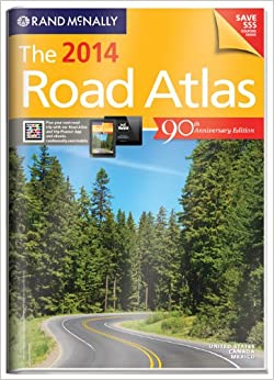 Rand Mcnally 2014 Gift Road Atlas With Protective Cover