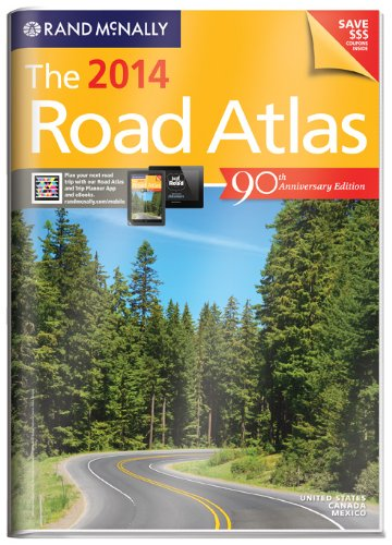 Rand McNally 2014 Gift Road Atlas (with protective cover) (Rand Mcnally Road Atlas United States/ Canada/Mexico (Vinyl Covered Edition)) (Rand McNally Road Atlas (Vinyl Covered))