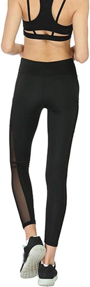 Frauen Yoga Pants Sport Strumpfhosen Hohe Taille Capris Yoga-Hosen mit Taschen Bauch-Steuer Stretch Yoga Gamaschen for Frauen Damen Workout Laufhose Gymnastik-Training Fitness Leggings