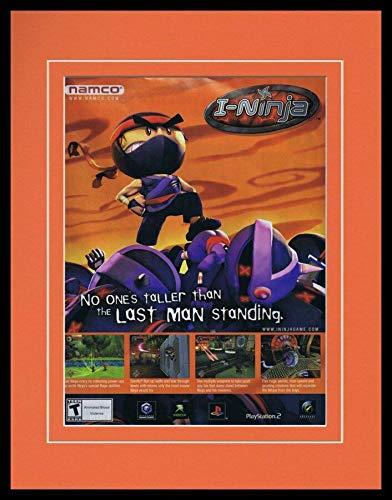 I-Ninja 2003 PS2 XBox Framed 11x14 ORIGINAL Vintage ...