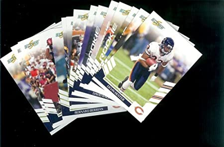 2007 Score Chicago Bears Team Set of 14 cards - Includes Brian Urlacher, Devin Hester, Cedric Benson, Rex Grossman and more -Shipped In Protective Storage Box!