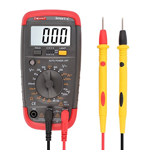 Multimeter Capacitance Resistance Continuity Transistor product image