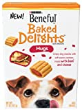 Beneful Baked Delights Hugs Dog Snack, 11-Ounce (Pack of 5), My Pet Supplies