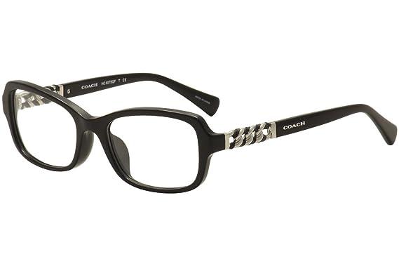 45e3a7ee616c Eyeglasses Coach HC 6075 QF 5002 BLACK at Amazon Women s Clothing store
