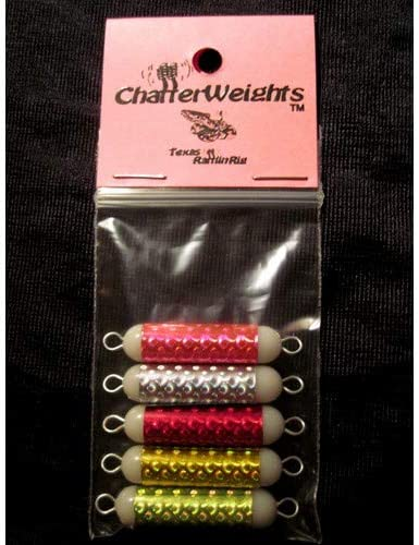 Texas Rattlin Rig TRR1297 5pk Multi-Colored Fishing Weight