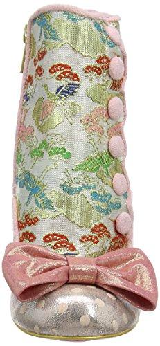 Scelta Irregolare Anni Doro - Stivali Da Donna Rosa Multi (artificiali)