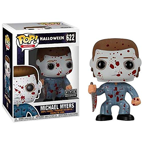 (Funko Michael Myers (f.y.e. Exclusive): Halloween x POP! Movies Vinyl Figure & 1 PET Plastic Graphical Protector Bundle [#622 / 33610 -)