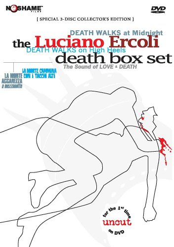 Luciano Ercoli's The Death Box Set (Death Walks on High Heels/ Death Walks at Midnight) by NoShame Films