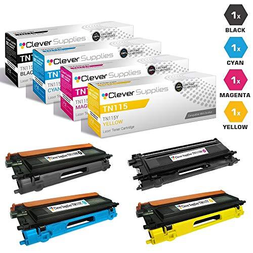 9045cdn Laser Brother Dcp - CS Compatible Toner Cartridge Replacement Brother TN115 TN-115 TN115BK TN115C TN115M TN115Y DCP-9045CDN 9040CDN HL-4070CDW 4040CDN 4050CDN MFC-9440CN 9450CDN 9840CDW 4 Color Set