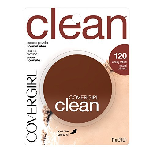 COVERGIRL Clean Pressed Powder Foundation Creamy Natural .39 oz.. by COVERGIRL