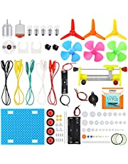 Sntieecr Electric Circuit Learning Kit, Car Model Assemble Physics Science Education Kits Set for Kids Student DIY STEM Science Lab Experiment Project