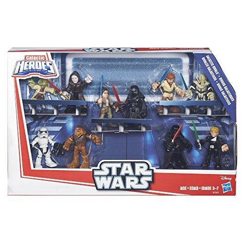 Star Wars Galactic Heroes Galactic Rivals Action Figure by Star Wars (Image #4)