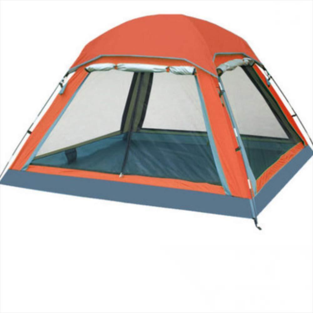 Keoa Praktische Hand Zelt Zelt 3-4 Personen Outdoor-Single-Layer-Multi-Person Große Kapazität Leichte Wasserdichte Anti-UV-Camping-Zelt,C