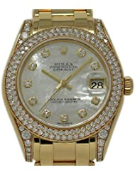 Rolex Masterpiece Swiss-Automatic Female Watch 81358 (Certified Pre-Owned)