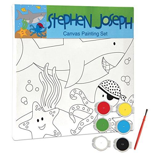 Stephen Joseph Craft Canvas Set Shark