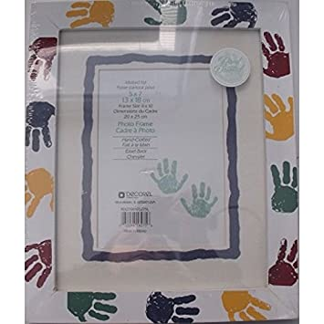 Amazon.com - Decorel Hand Painted Decorative Baby Photo Frame 1748716 -