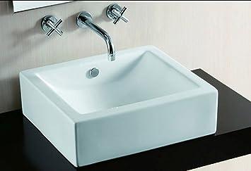 Design Waschbecken Zähler von Keramik Becken: Amazon.de ...