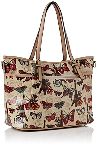Beige Sac Paris femme Beige Floral Swankyswans Beige Noel Butterfly PwCxY4InTq