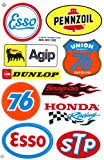 Sponsor Motocross Racing Tuning Motorbike Decal Sticker Sheet C214