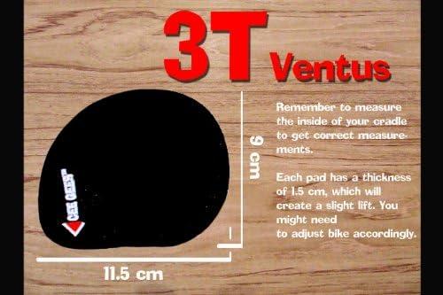 CY3T03 Original 3T Ventus Team, Older 3T Ventus Cee Gees Cushys Aerobar Pads