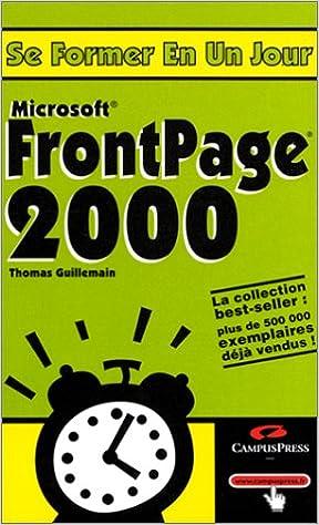 Téléchargement FrontPage 2000 epub pdf