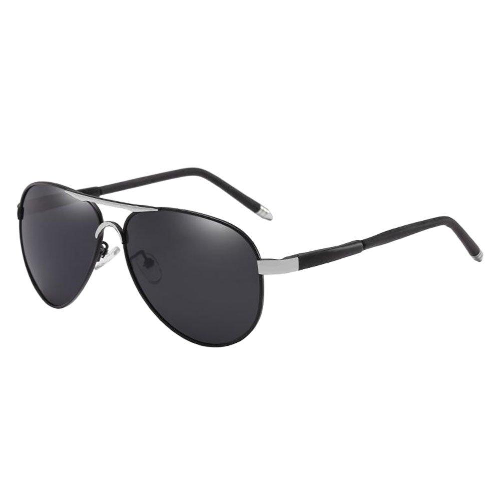Haodasi Klassisch Flieger Sonnenbrille Metallrahmen Stilvoll Treiber ...