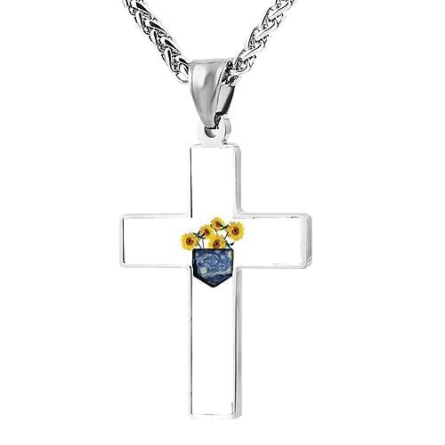 3337ce62517 FollowC Pocket Sunshine Cross Pendant - Jewelry Zinc Alloy Chain ...