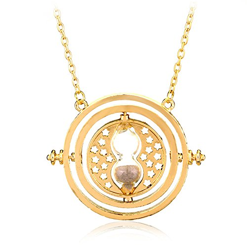 Time Turner Necklace - Gold / Metal