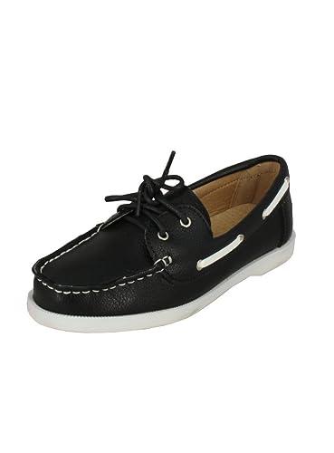 b43c7d71e56 Chaussure Bateau Blanche ou Noire Enfant garçon  Amazon.fr ...