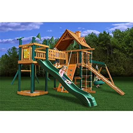 ... decay, and insect damage, this massive play set requires minimal  maintenance so you'll have years of active backyard play with little worry. - The Top 50 Safest Backyard Swing Sets Safety.com