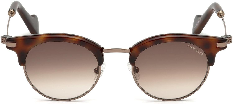 Sunglasses Moncler ML 0035 52F dark havana gradient brown