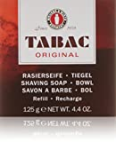 Tabac Original By Maurer & Wirtz For Men Shaving Soap Bowl Refill, 4.4-Ounces