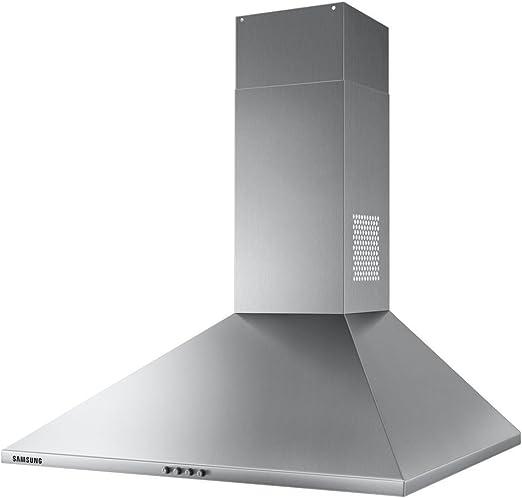 Samsung NK24M3050PS 512 m³/h De pared Acero inoxidable D - Campana (512 m³/h, Canalizado/Recirculación, D, g, D, 70 dB): Amazon.es: Hogar
