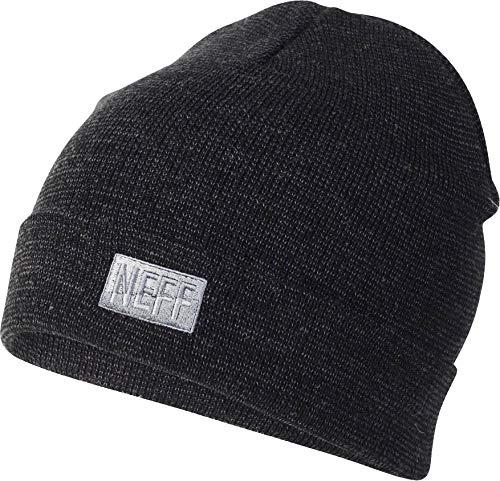 - NEFF Men's Thermal dye Beanie, Twill/Charcoal, One Size