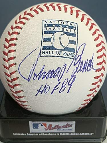 Johnny Bench Autographed Baseball - Hof 89 Hall Of Fame Oml - Autographed Baseballs