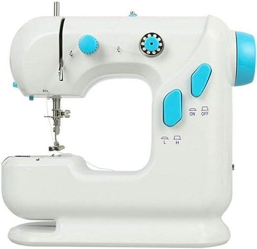 DYW-Sewing machine Máquina de Coser portátil Mini máquina de Coser ...