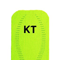 KT Kinesiology Tape Pro 10 Inch Strip For Muscle & Ligament Pain Green X 20