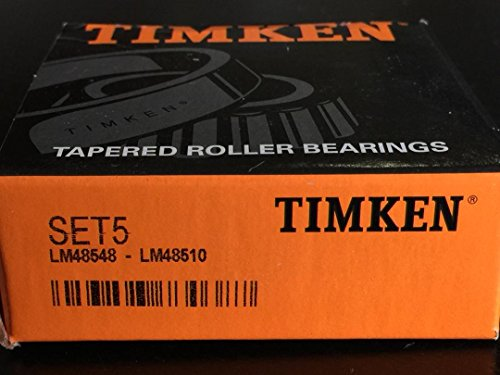 (LM48548/LM48510 Wheel Bearing and Race Set-Race Set Front Inner TIMKEN SET5)